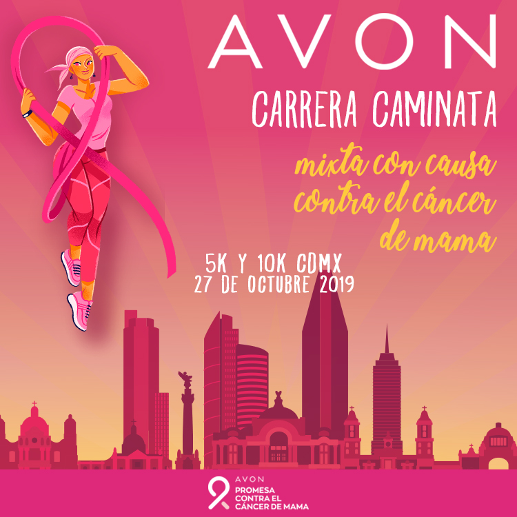 CARRERA MIXTA CON CAUSA AVON 2019 CDMX